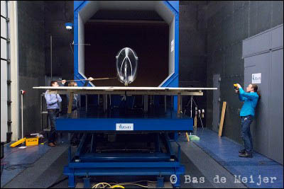 VeloX3 in de windtunnel